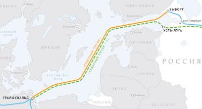 """Данія дозволила прокладання """"Північного потоку-2"""" у своїх територіальних водах"""