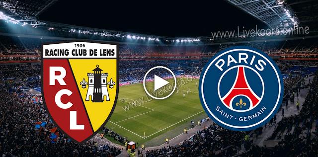 موعد  مباراة لانس وباريس سان جيرمان بث مباشر بتاريخ 10-09-2020 الدوري الفرنسي