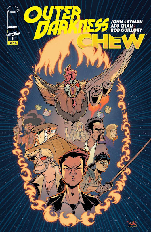 Outer Darkness / Chew Crossover Miniseries Coming in March 2020