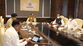 मुख्यमंत्री ने कहा प्रदेश के सभी जिले बुरहानपुर माॅडल को अपनाये