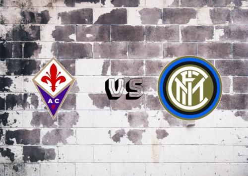 Fiorentina vs Inter de Milán  Resumen y Partido Completo