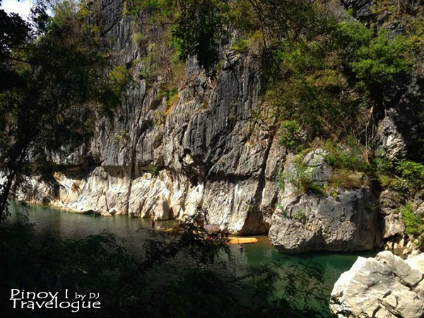 Limestone walls of Minalungao National Park