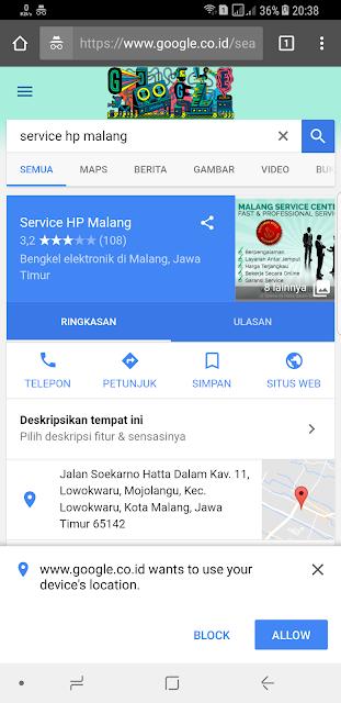 Service HP terbaik di Malang