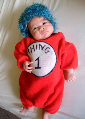 DIY baby thing 1 Halloween costume