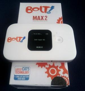 MODEM BOLT WIFI MAX 2 4G LTE