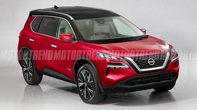 Nissan X-Trail 2021 lộ diện, thiết kế hiện đại hơn