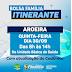 SECRETARIA DE ASSISTÊNCIA SOCIAL DE FILADÉLFIA, ESTARÁ REALIZANDO BOLSA FAMÍLIA ITINERANTE NA LOCALIDADE DE AROEIRA
