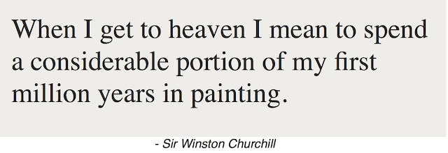 Sir Winston Churchill Quote.