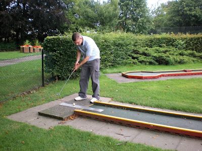 Mini Golf at Florence Park in Oxford