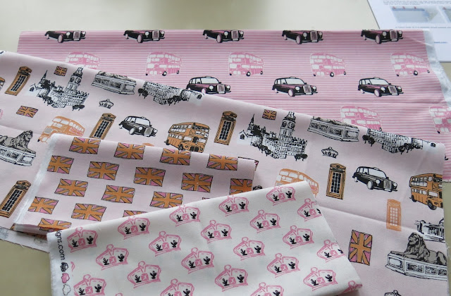 British Invasion fabric collection from Riley Blake Designs