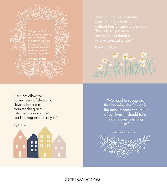 lds april 2021 general conference quotes printables