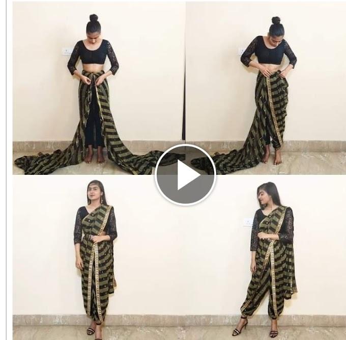 Leran How to  wear sari