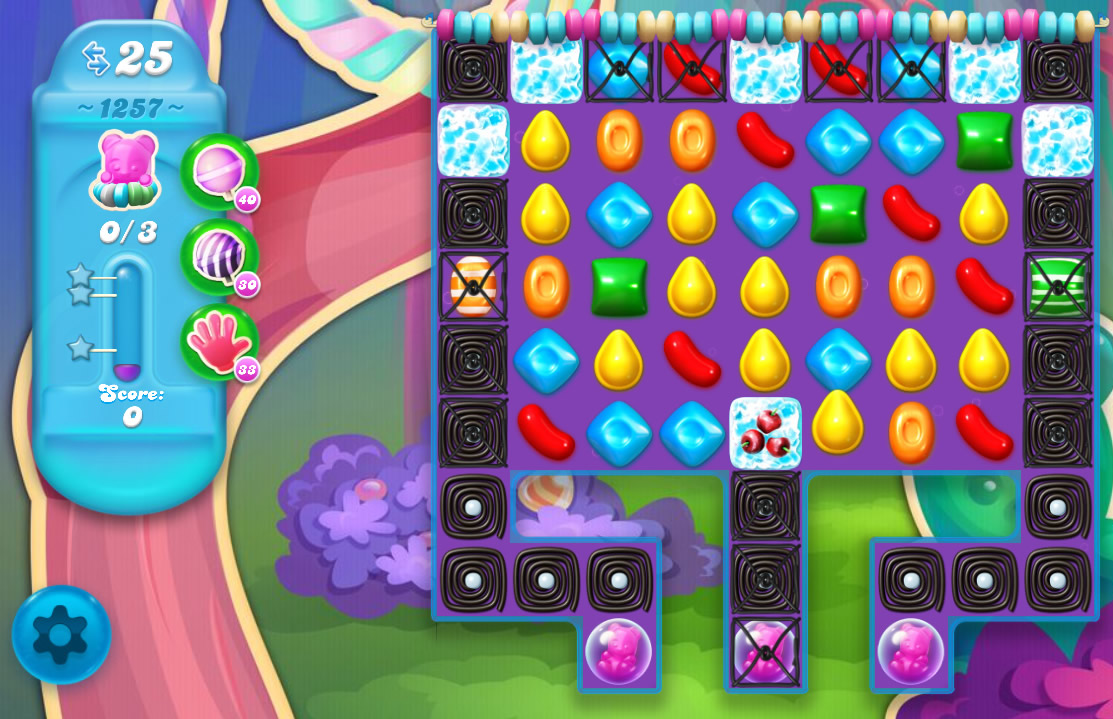 Candy Crush Soda Saga level 1257