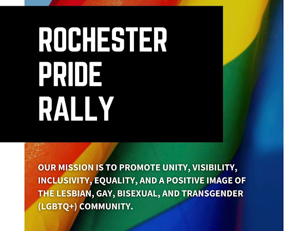 Rochester NH Pride Rally 8/28/21 1-4pm