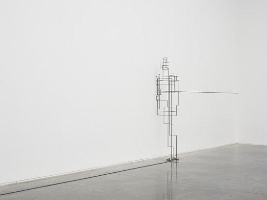 "Antony Gormley - ""Border III"", 2011. | imagenes obras de arte figurativo abstracto, esculturas figurativas abstractas | art pictures inspiration, cool stuff"