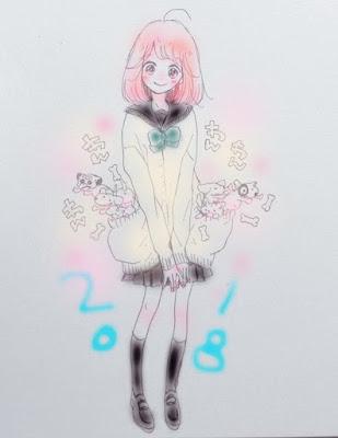 Ano Novo 2019 imagens das mangakás Shoujo & Josei - parte 1