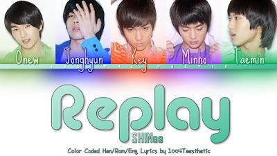 Lirik Lagu Replay - SHINee