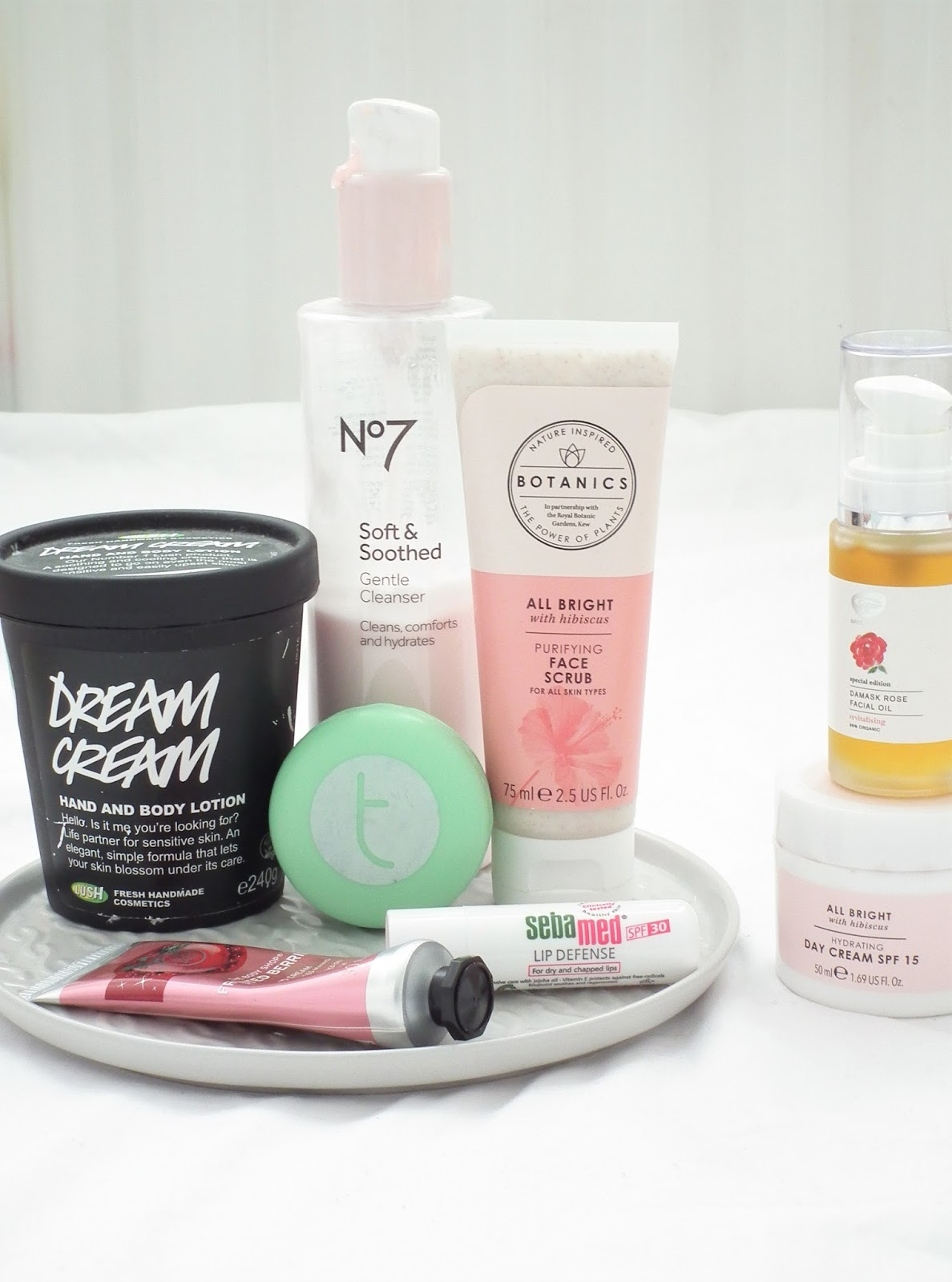 Winter Skincare For Dry/Dehydrated Skin Products Routine