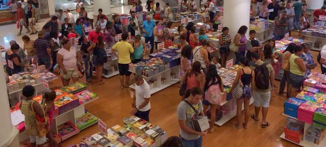 Incentivo a leitura no Center Shopping (RJ)