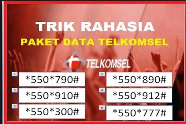 Kode-Paket-Internet-Telkomsel-Murah