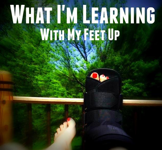 Recovering From Broken Foot