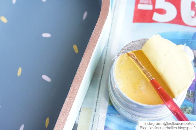 Peinture meuble Libéron coloris Epi de blé