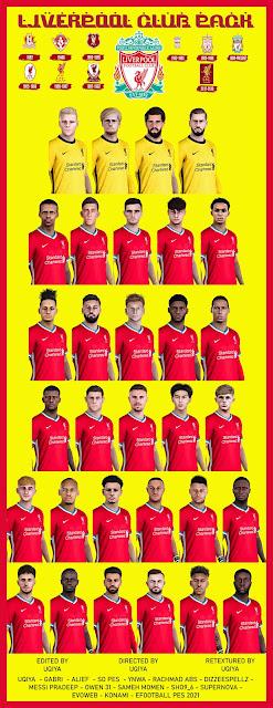 PES 2021 Liverpool Facepack by Uqiya