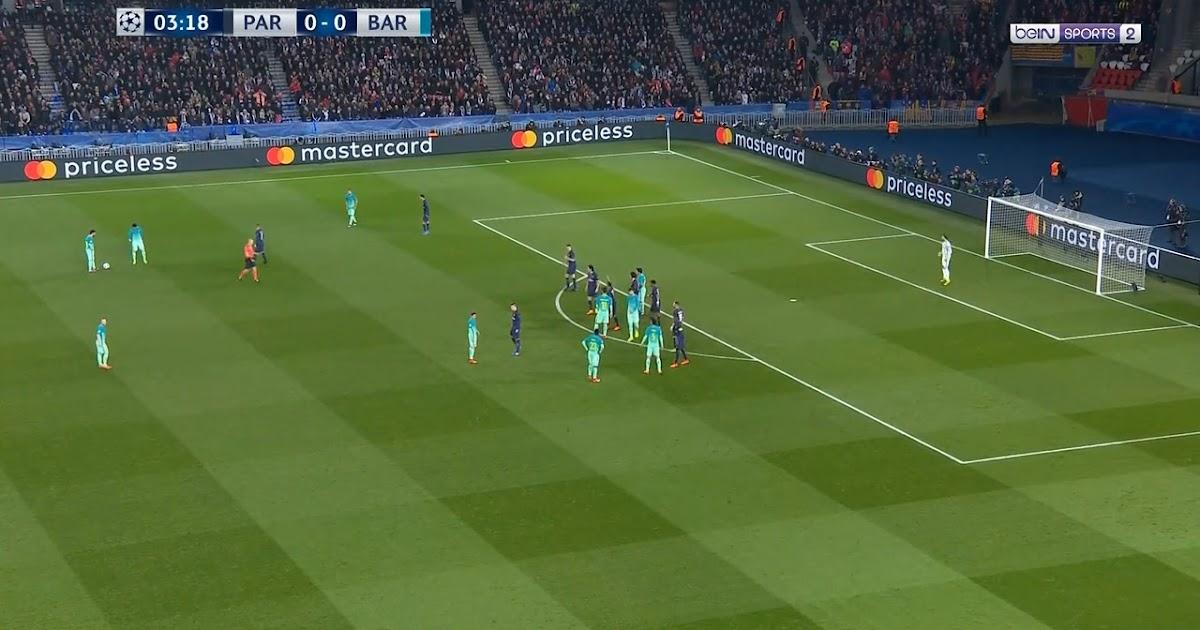 PSG vs Barcelona - R16 1st Leg UEFA Champions League 2016 ...