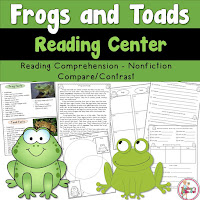Frog and Toad Reading Center