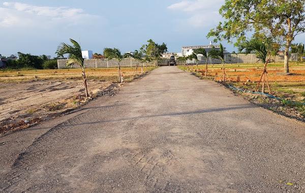 bán lô đất 250m2 nằm trong khu nghỉ dưỡng Happy Garden Hồ Tràm , Cách biển Hồ Tràm 800m