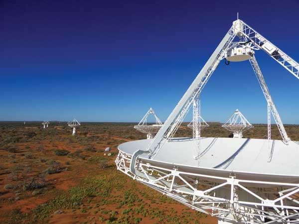 ASKAP - observatório de rádio no oeste da Austrália