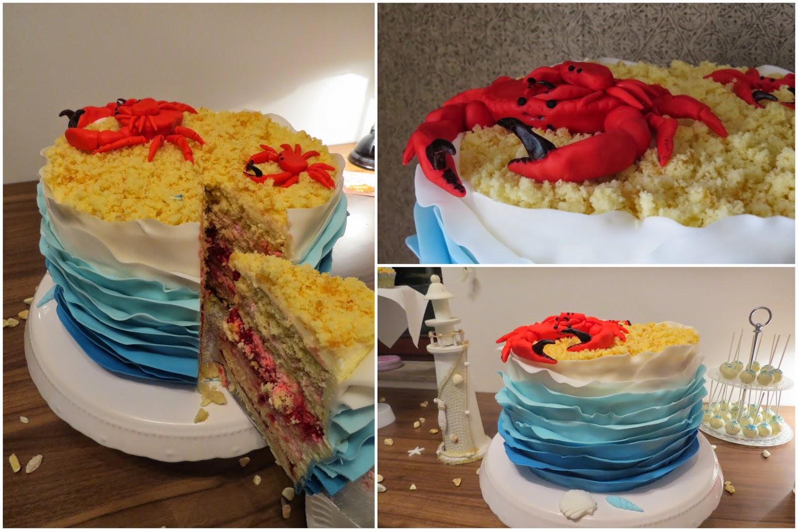 Ruffle Cake
