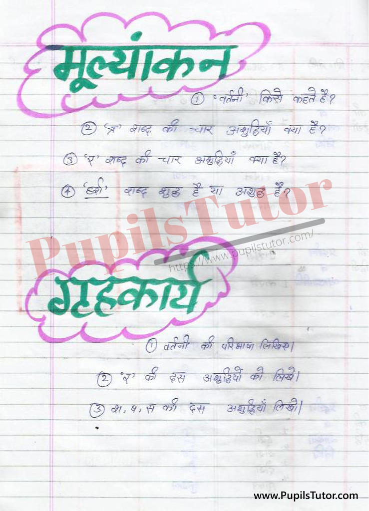 Vartani Lesson Plan   Vartani Vikar Lesson Plan