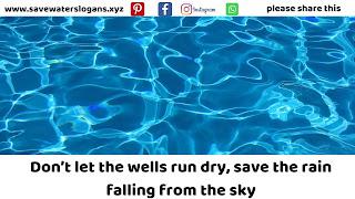 save water slogans 2