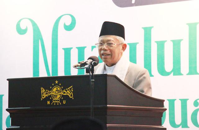 Komitmen Kiai Ma'ruf Amin Usai Ditetapkan Jadi Wakil Presiden RI