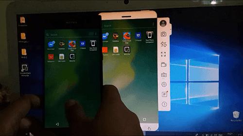 برنامج إظهار شاشة هاتف الاندرويد على الكمبيوتر