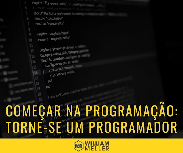 Como iniciar na programação – Torne-se um bom programador
