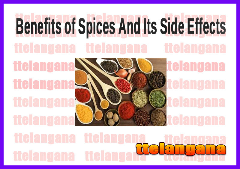 Benefits of Spices And Its Side Effects