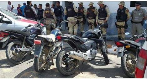 Mata Grande: Três são presos e veículos apreendidos em operação policial