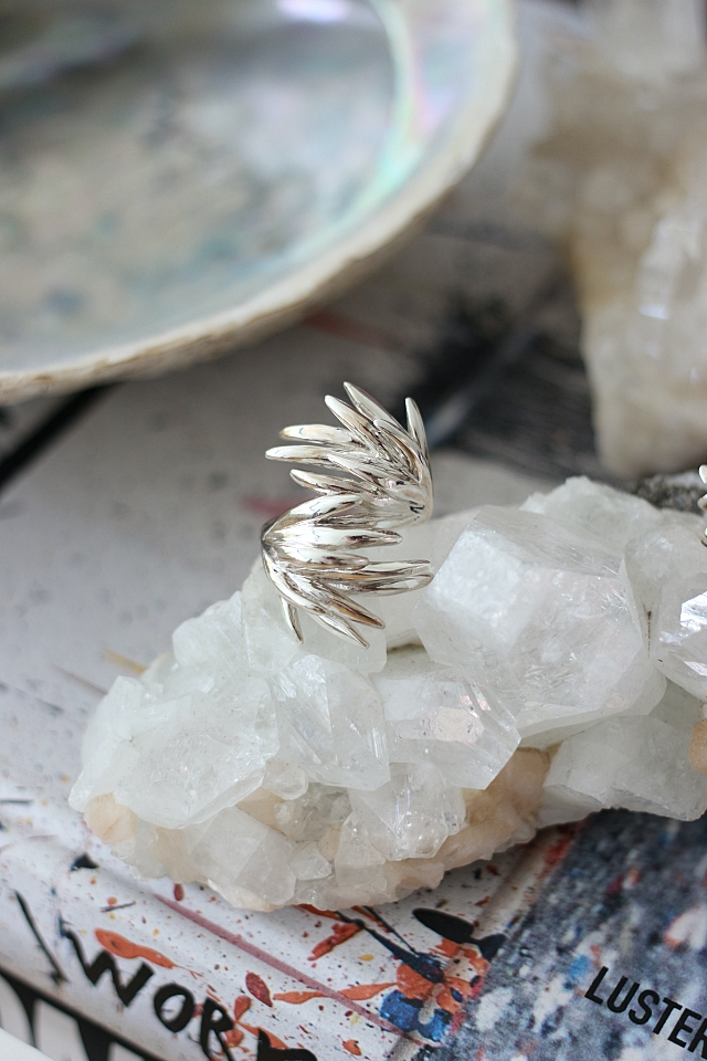 Christa Reniers Double Windswept Ring
