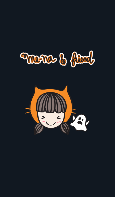 Me-na & friends : Halloween Theme