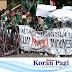 Turut Aksi Tolak UU KPK dan RKUHP, Mahasiswa Tulungagung 'Luruk' Dewan