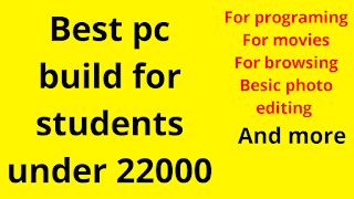 Pc build tips for Programing and Coding for Students in Hindi