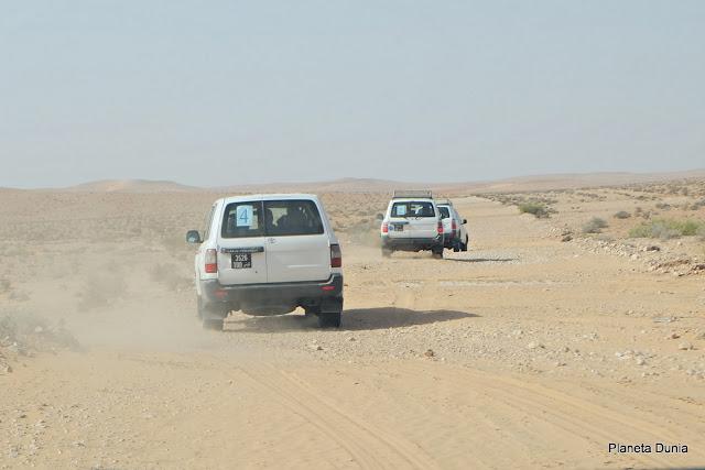 En coche por el Sáhara