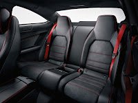 2011 Mercedes C63 AMG Coupé Black Series Interior Rear Back Seat