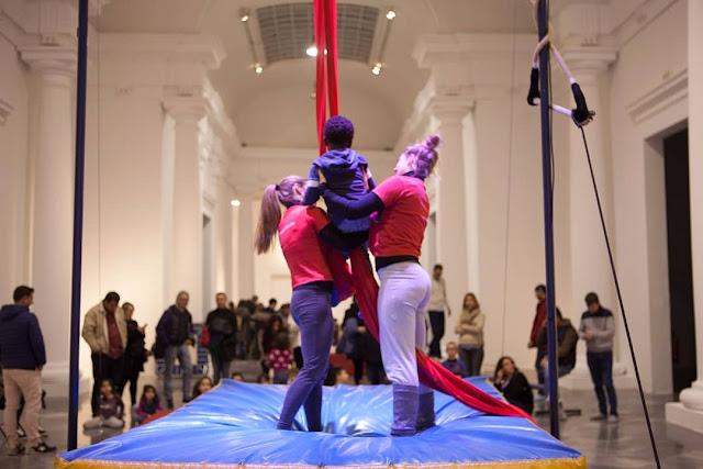 Escuela de circo para los más pequeños en el Centro del Carmen