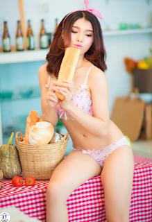 Hình ảnh khỏa thân của phụ nữ hoàn toàn 100 Linh Miu