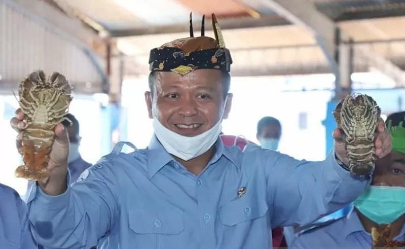 Menteri Kelautan dan Perikanan Menteri Menteri Kelautan dan Perikanan Edhy Prabowo.