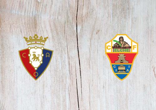 Osasuna vs Elche -Highlights 18 April 2021