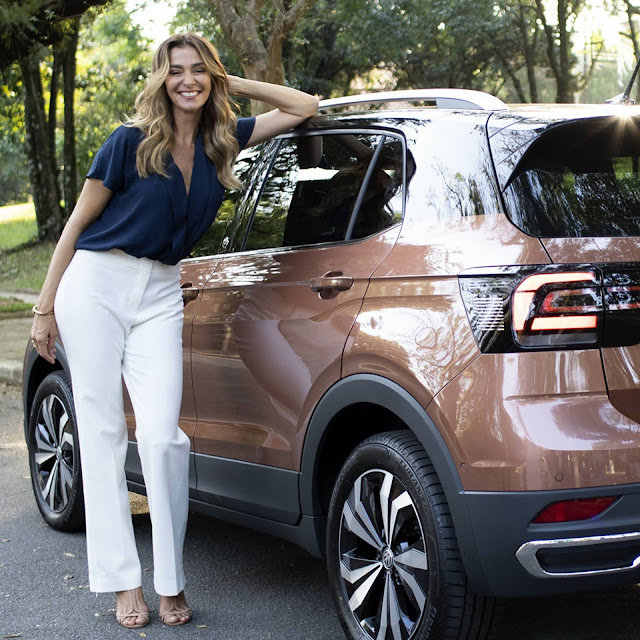 VW T-Cross no programa Saia Justa da GNT
